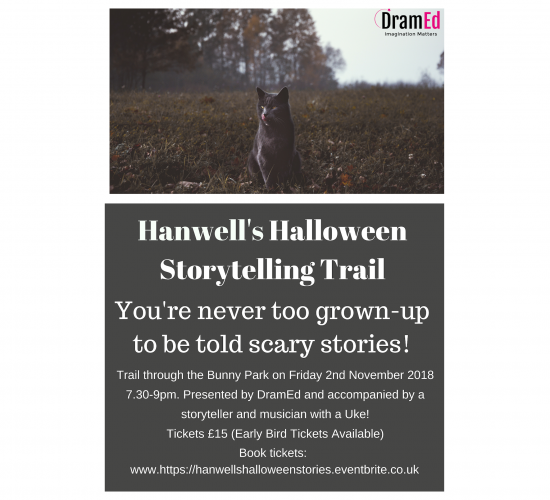 Hanwells Halloween Storytelling Trail